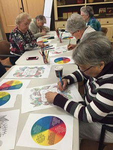 colouring for seniors